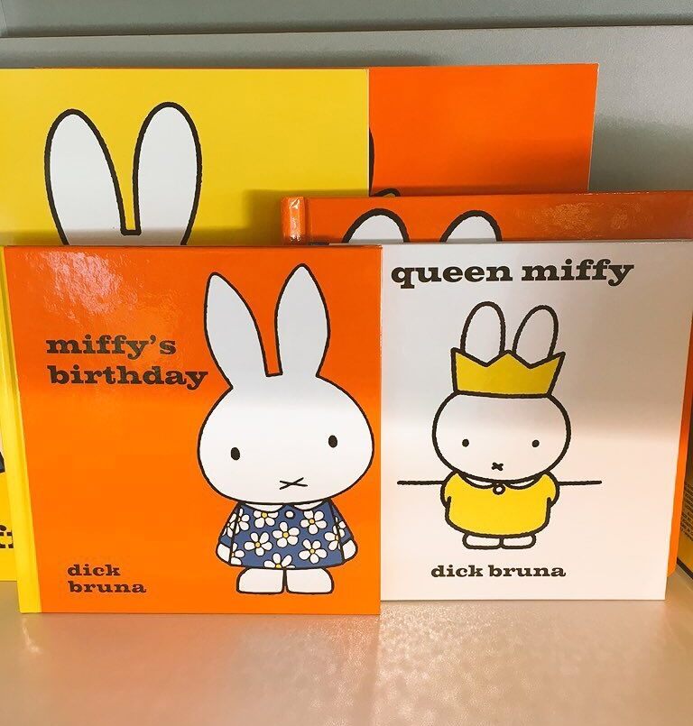 Miffy books at the airport!